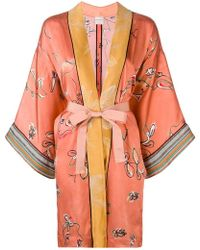 Forte Forte - Manteau d'inspiration kimono - Lyst