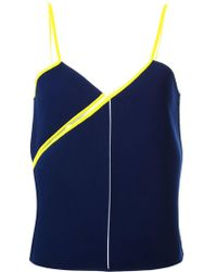 Courreges - Twisted Strap Top - Lyst