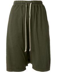 Rick Owens Drkshdw | Drop Crotch Shorts | Lyst