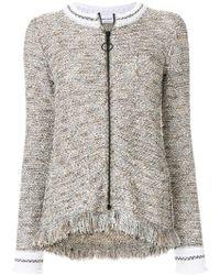 Sonia Rykiel - Fringed Tweed Jacket - Lyst