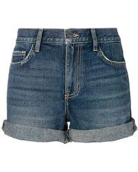 Current/Elliott - Denim Shorts - Lyst