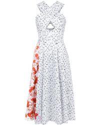 Isolda   Mumbai Midi Dress   Lyst