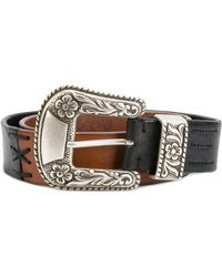 Golden Goose Deluxe Brand | Embellished Buckled Belt | Lyst
