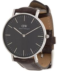 Daniel Wellington - Classic Black York Watch - Lyst