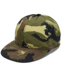 Valentino - Camouflage Baseball Cap - Lyst