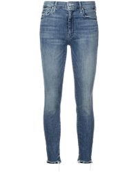 Mother - High Waisted Looker Jeans - Lyst