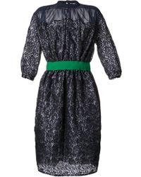 Kolor - Lace Dress - Lyst