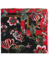Marc Cain - Printed Scarf - Lyst