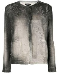 Avant Toi - Ombré Fitted Jacket - Lyst