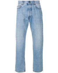 Versace - Medusa Straight-leg Jeans - Lyst