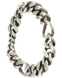 Werkstatt:münchen - Werkstatt:münchen Braided Chain Bracelet - Lyst