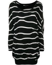 Y-3 - Oversized Wavy Striped Sweater - Lyst