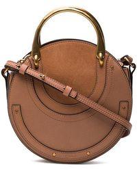 Chloé - Small Beige Pixie Crossbody Bag - Lyst