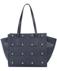 Christian Siriano - Flower Embellished Shoulder Bag - Lyst