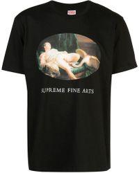 Supreme - Leda And The Swan T-shirt - Lyst