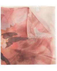 Ferragamo - Printed Scarf - Lyst