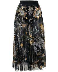 516624321 Amen Fringe Sequined Mini Skirt - Save 28% - Lyst