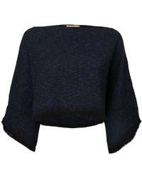 Nehera - - Jaja Poncho Top - Women - Cotton/polyamide/spandex/elastane - 34 - Lyst
