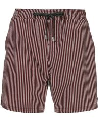 The Upside - Striped Shorts - Lyst