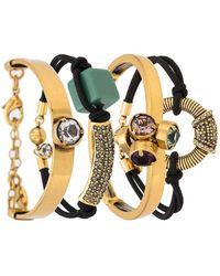 Camila Klein - Strass Embellished Bracelet Kit - Lyst