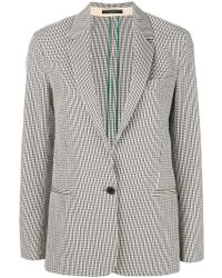 Paul Smith - Plaid Tailored Jacket - Lyst
