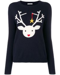 Chinti & Parker - Deer Knitted Sweater - Lyst