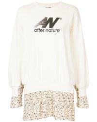 AALTO - Layered Look Logo Sweatshirt - Lyst
