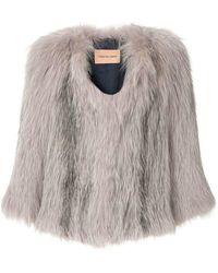 Yves Salomon - Fur Jacket - Lyst