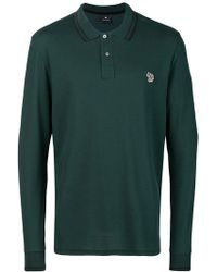 PS by Paul Smith - Longsleeved Polo Shirt - Lyst