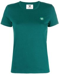 WOOD WOOD - Short Sleeve Logo T-shirt - Lyst