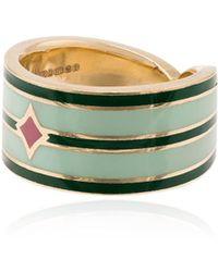 Tara Hirshberg Nihi Long Board Ring - Groen