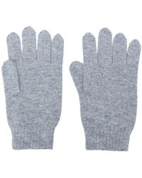 N.Peal Cashmere - Mens Ribbed Gloves - Lyst