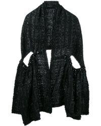 Simone Rocha - Bufanda de lurex en tweed - Lyst