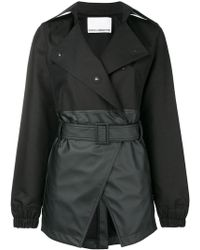 Paco Rabanne - Fitted Double Breasted Coat - Lyst
