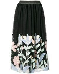 Caban Romantic - Floral Skirt - Lyst