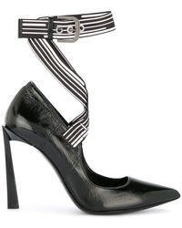 Lanvin - Logo Slingback Court Shoes - Lyst