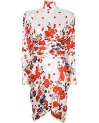 Bevza - Hustka Tulip Print Dress - Lyst