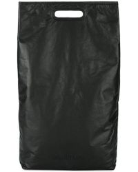 Helmut Lang - Black Small Rectangle Tote - Lyst