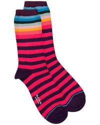 PS by Paul Smith - Gertrude Striped Socks - Lyst