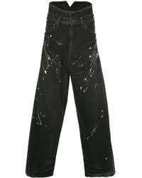 Julius Loose Fit Jeans - Black