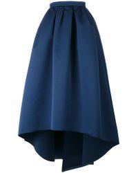 Paule Ka - High Low Full Skirt - Lyst