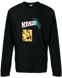 KENZO - 'horror Movie' Print Sweatshirt - Lyst