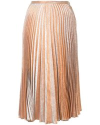 Maria Lucia Hohan - Pleated Midi Skirt - Lyst