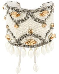 Etro - Crystal Pearl Embellished - Lyst