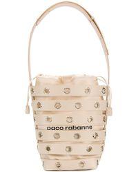 Paco Rabanne - Cage Bucket Shoulder Bag - Lyst