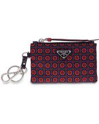 38528f4bb6f3 Prada - Brand Embellished Clutch Bag - Men - Nylon - One Size in ...