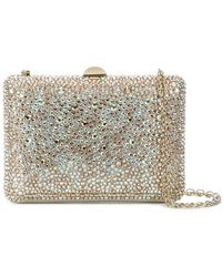 Rodo - Crystal Covered Clutch - Lyst