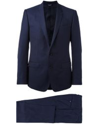 Dolce & Gabbana - Patterned Suit - Lyst