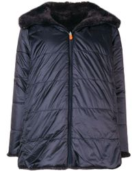 Save The Duck - Puffer Loose Jacket - Lyst