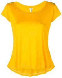 Loewe - Scoop Neck T-shirt - Lyst